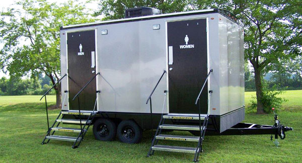 Portable Toilets and Luxury Restroom Trailer rentals Vermont and new york